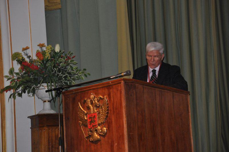 Выступление Президента Конгресса Академика РАМН Николая Федотовича ИЗМЕРОВА (2012)